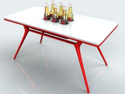 Beer table concept