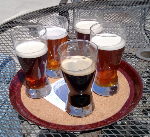 Brewers Union sampler tray