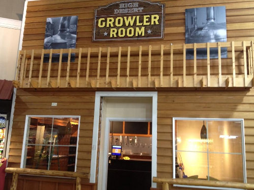 High Desert Growler Room