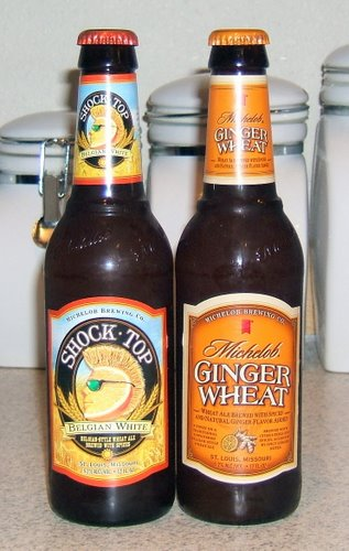 Michelob Ginger Wheat and Shock Top