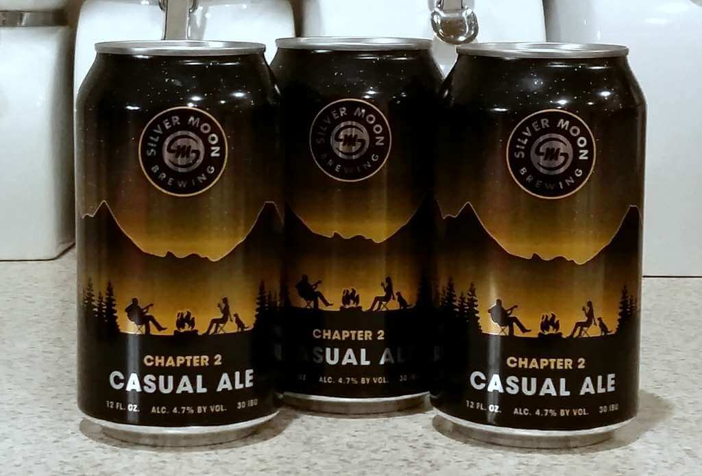 Received Silver Moon Brewing Chapter 2 Casual Ale The