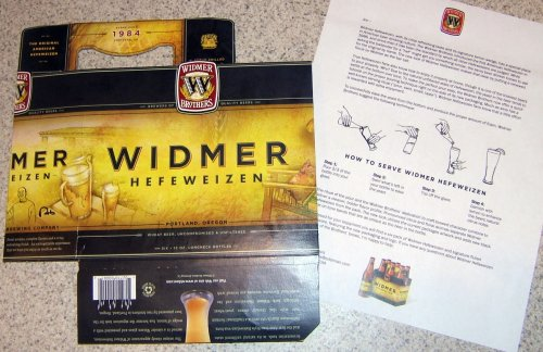 Widmer Hefeweizen new packaging